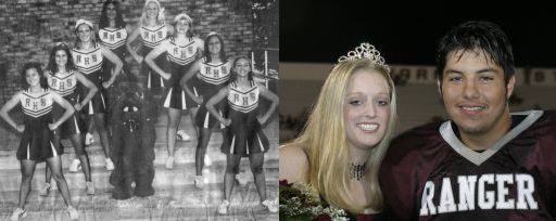 RHS 2004-05 Cheerleaders & Homecoming Queen/Escort