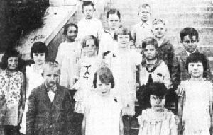 Ranger Perfect Attendance Students in 1930