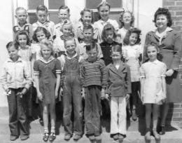 RHS-1953 Class at Young School
