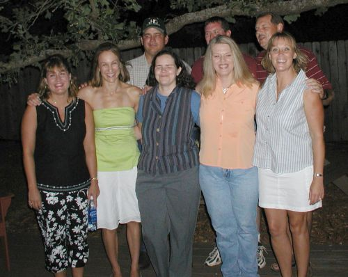 RHS Class of 1984 Reunion in 2004