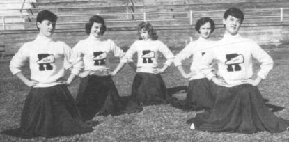 1953 RHS Cheerleaders