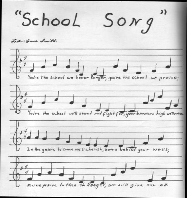 ranger school song present  tx